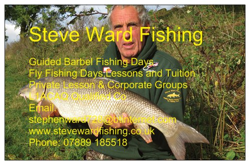 Steve Ward Fishing - Benson, Oxfordshire OX10 6SJ - 07889 185518 | ShowMeLocal.com