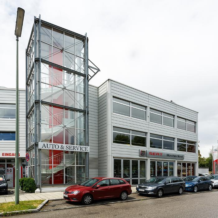 Auto service pia filiale m nchen nord seat m nchen for Skoda frankfurter ring