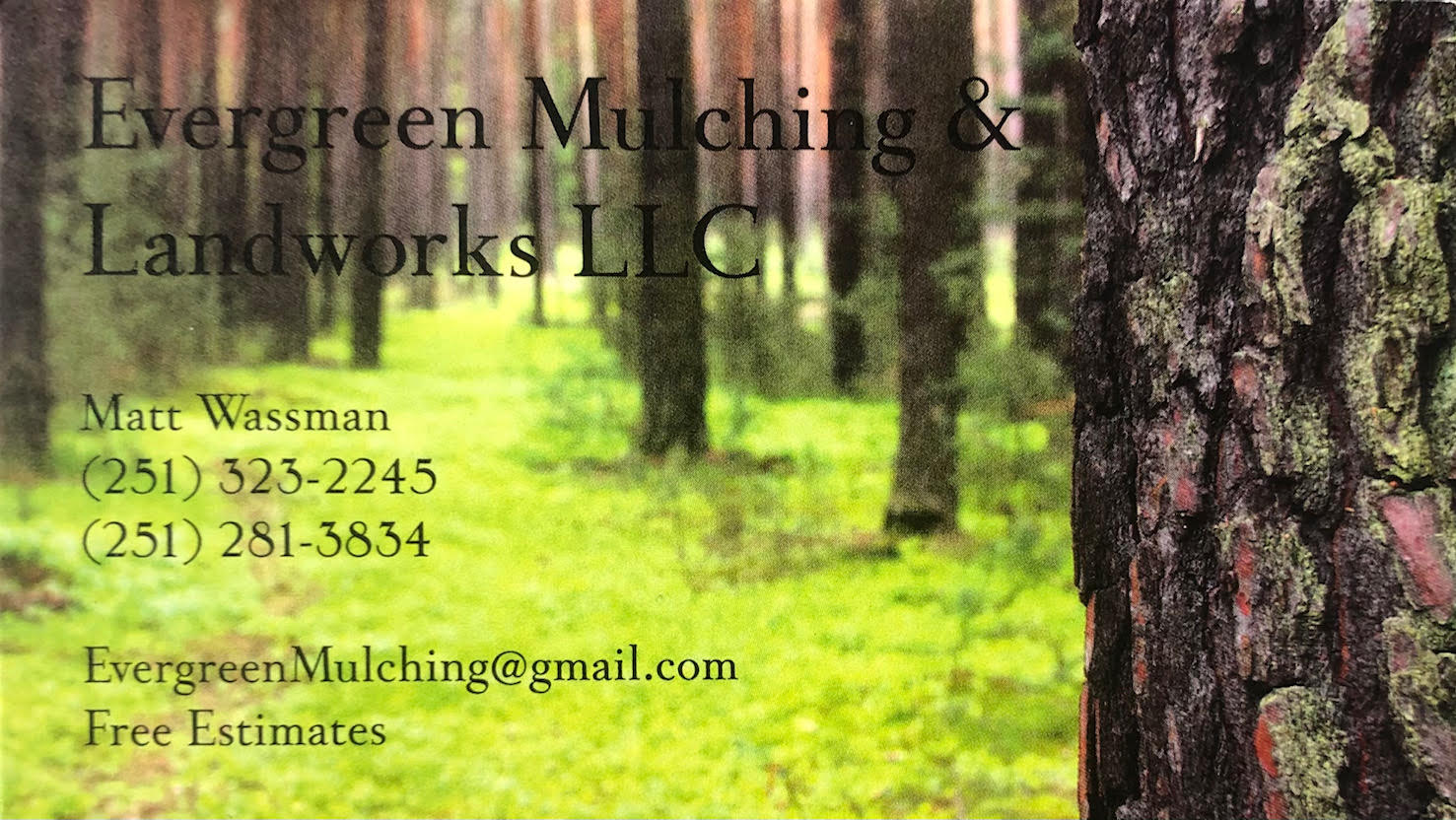 Evergreen Mulching & Landworks LLC