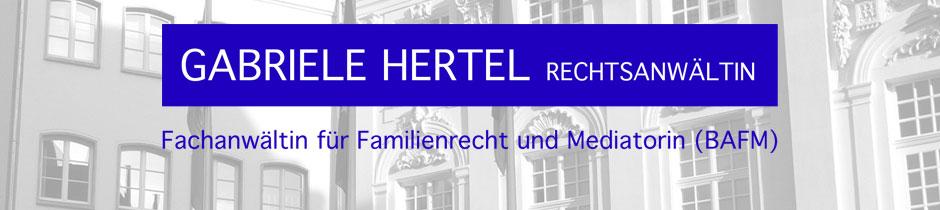 Rechtsanwältin Gabriele Hertel