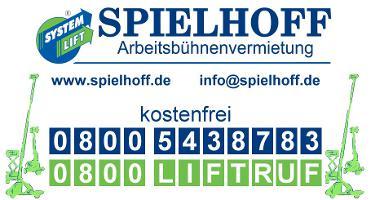 Spielhoff GmbH Systemlift Arbeitsbühnen