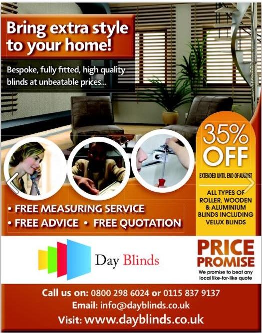 Day Blinds Ltd - Nottingham, Nottinghamshire NG7 2AB - 01158 379137 | ShowMeLocal.com