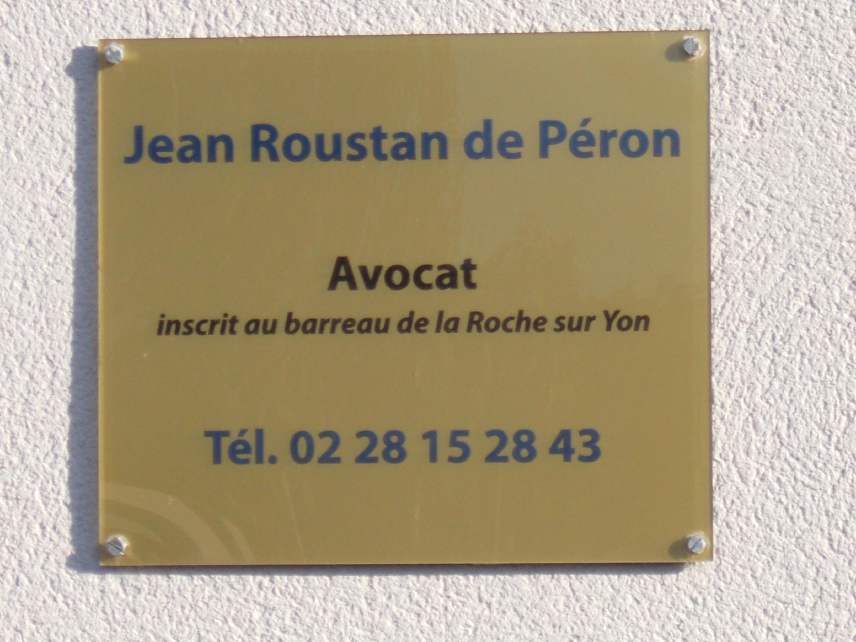 Cabinet Roustan de Péron
