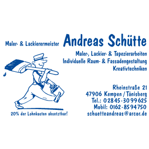 Bild zu Malermeister Andreas Schütte in Kempen