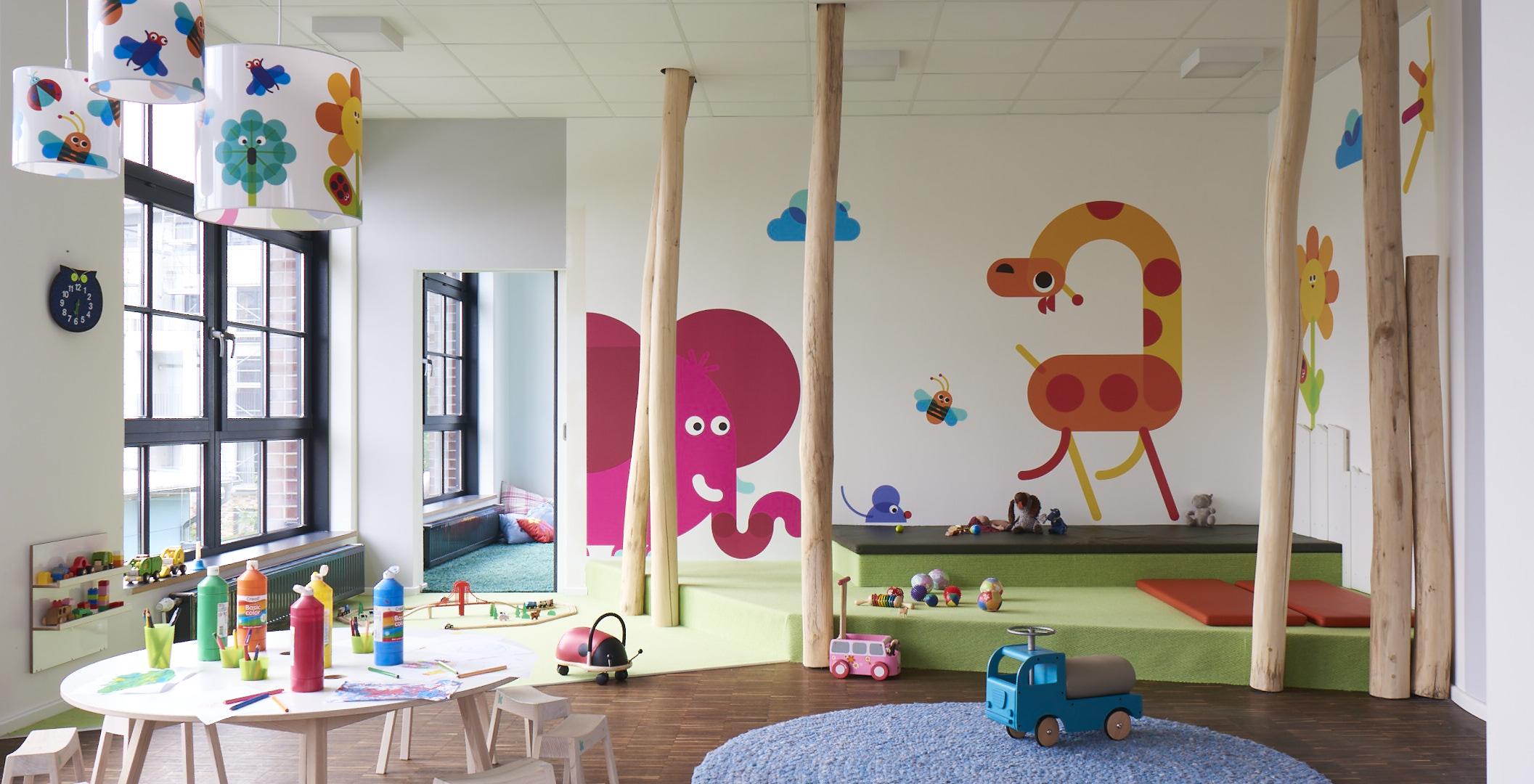 KiTa Kinderzimmer Bahrenfeld Marmeladenfabrik in 22763