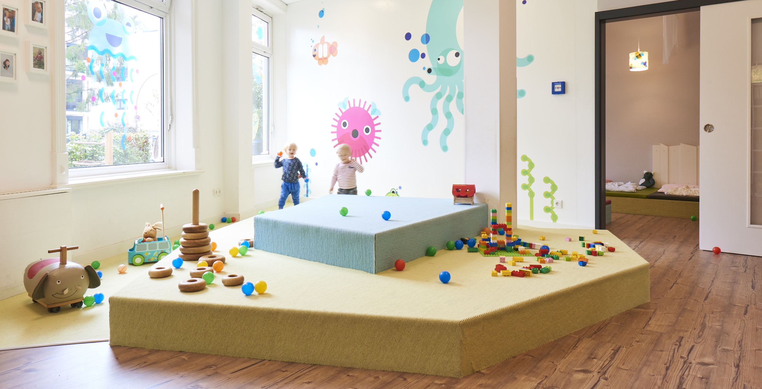 kita kinderzimmer villa flottbek gro flottbek private kinderg rten hamburg deutschland. Black Bedroom Furniture Sets. Home Design Ideas