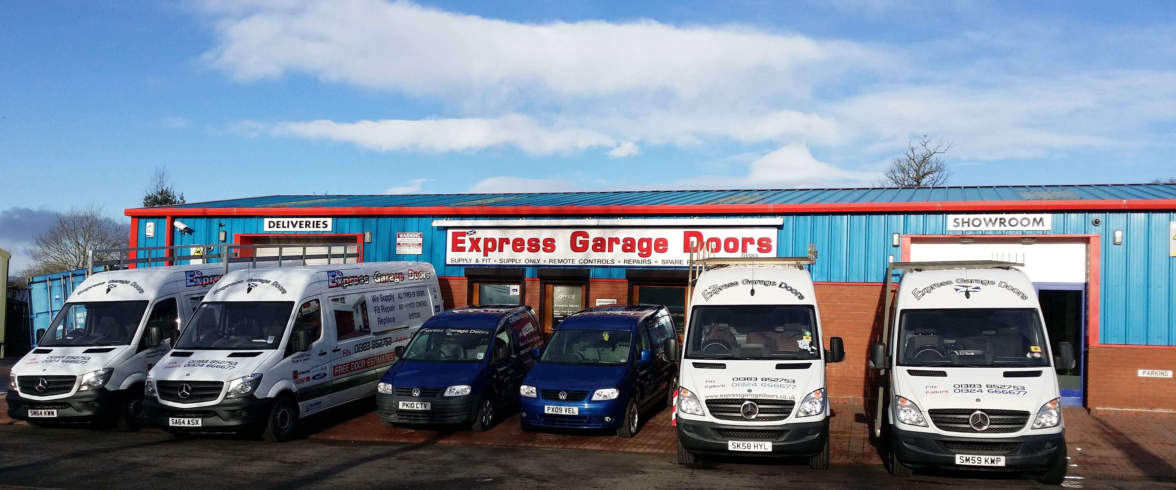 Express Garage Doors - Dunfermline, Fife KY12 9QB - 01383 852753 | ShowMeLocal.com