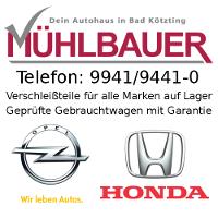 Opel Honda Autohaus Mühlbauer