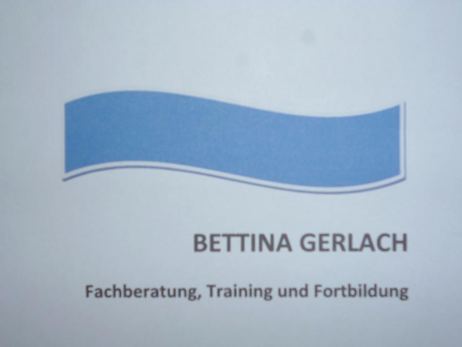 Logo von Bettina Gerlach - Fachberatung, Training und Fortbildung für KITA und HORT