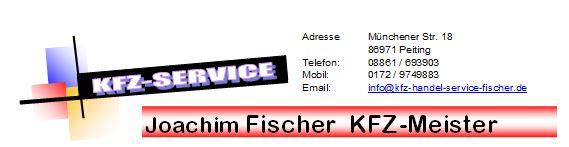 Kfz-Service Joachim Fischer Meisterbetrieb