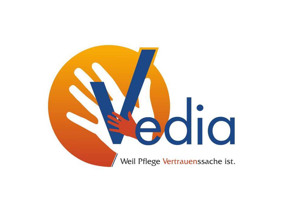 Logo von Ambulante Pflege Vedia Heimbeatmung-Intensivpflege-Kinderintensivpflege-häusliche Krankenpflege