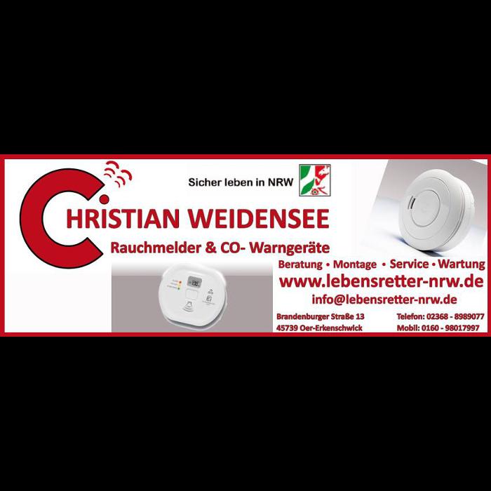 Bild zu Rauchmelder & CO-Warngeräte Christian Weidensee in Oer Erkenschwick