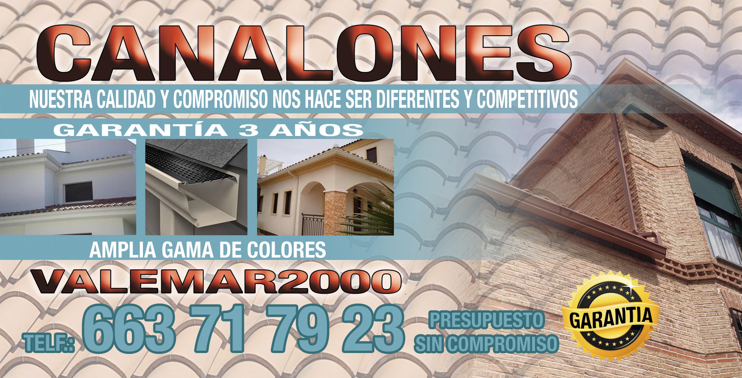 Canalones Valemar 2000