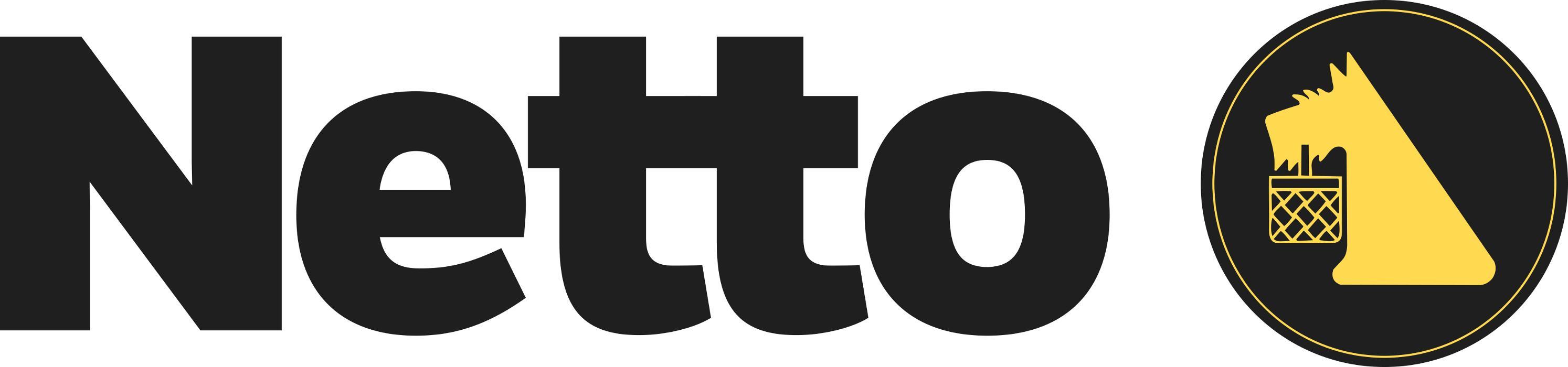 Logo von Netto Deutschland - schwarz-gelber Discounter mit dem Scottie