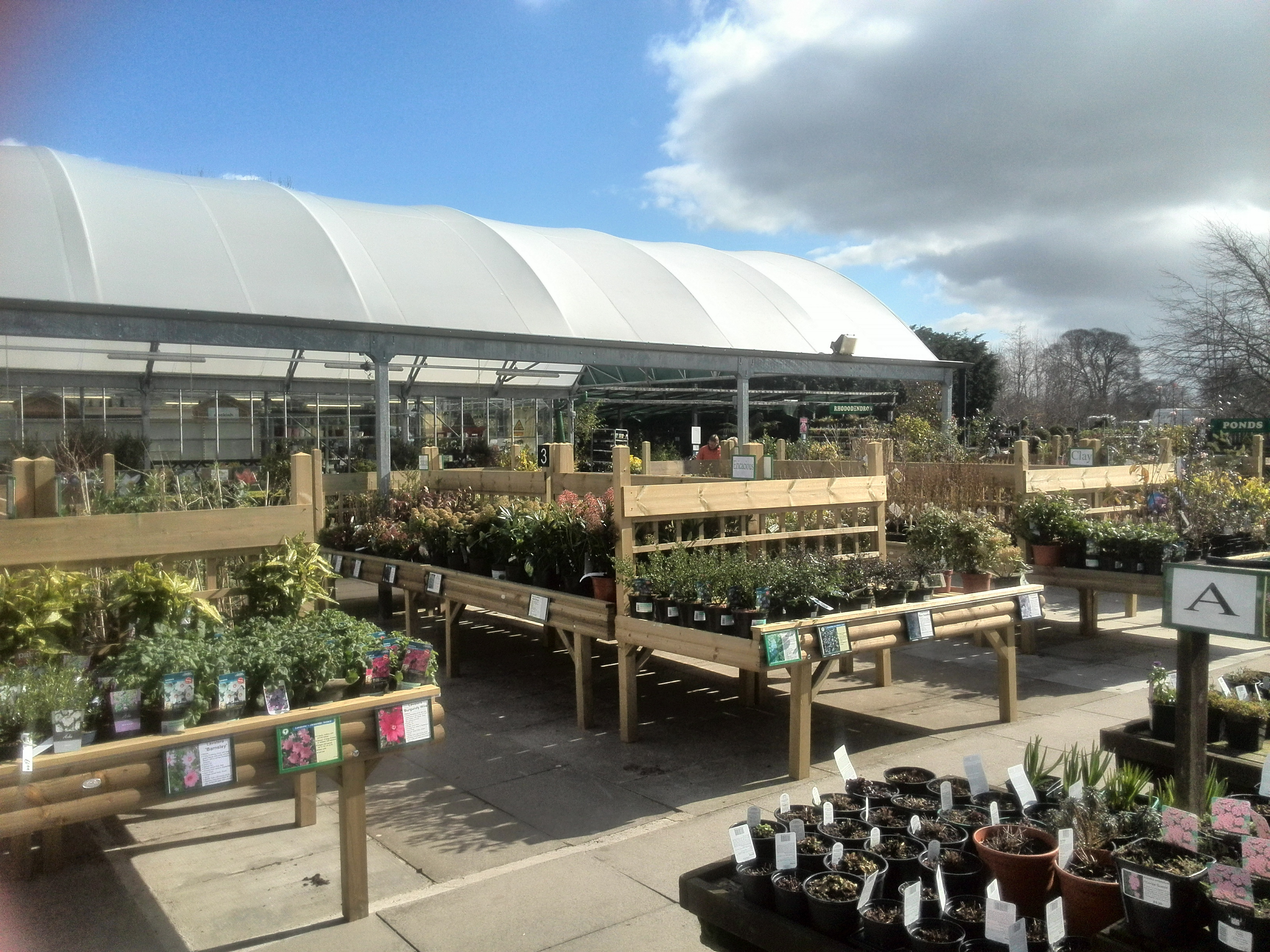 Twinlocks garden centre