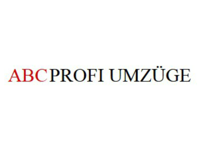 ABC PROFI Umzüge e.K.