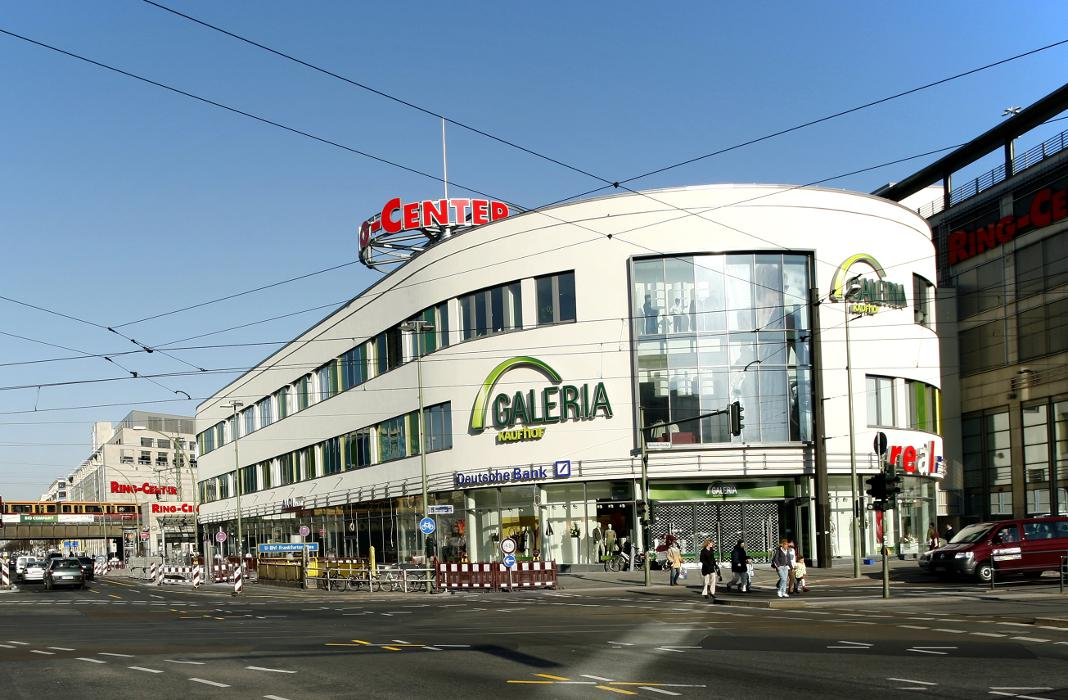 Galeria Kaufhof Berlin Ring-Center, Frankfurter Allee in Berlin