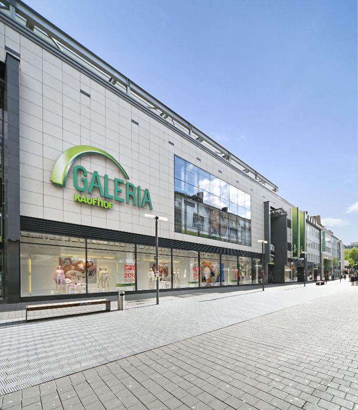 Galeria Kaufhof Aachen, Adalbertstraße in Aachen
