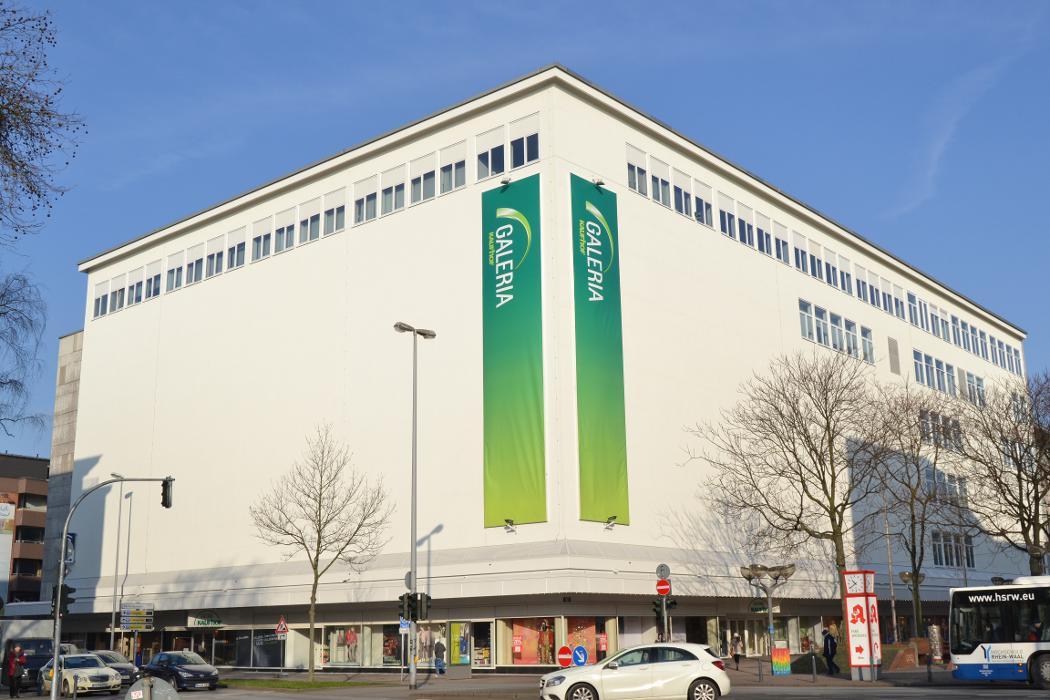 Galeria Kaufhof Duisburg, Düsseldorfer Straße in Duisburg