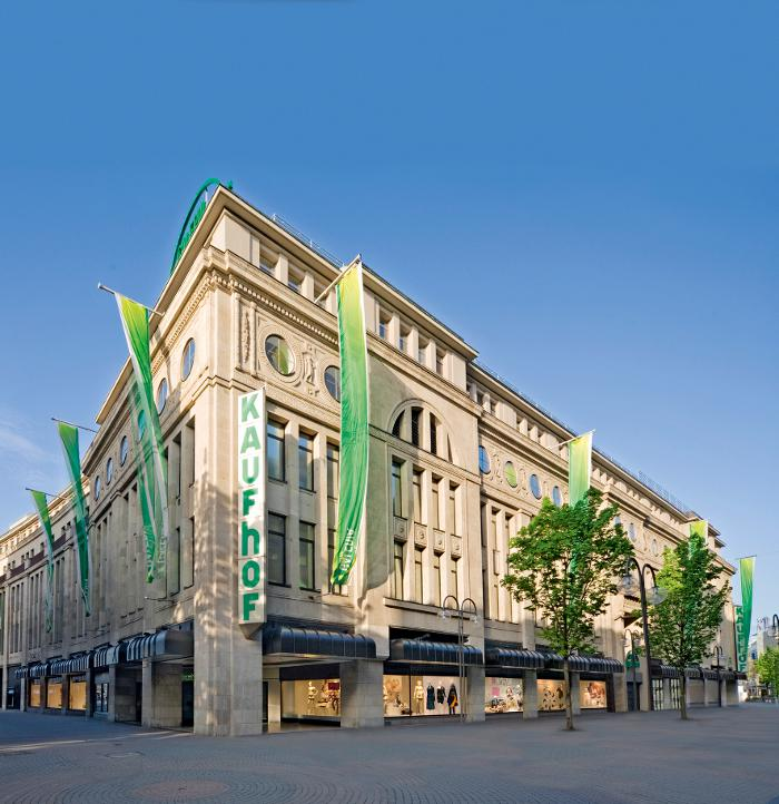 Galeria Kaufhof Köln Hohe Straße, Hohe Straße in Köln