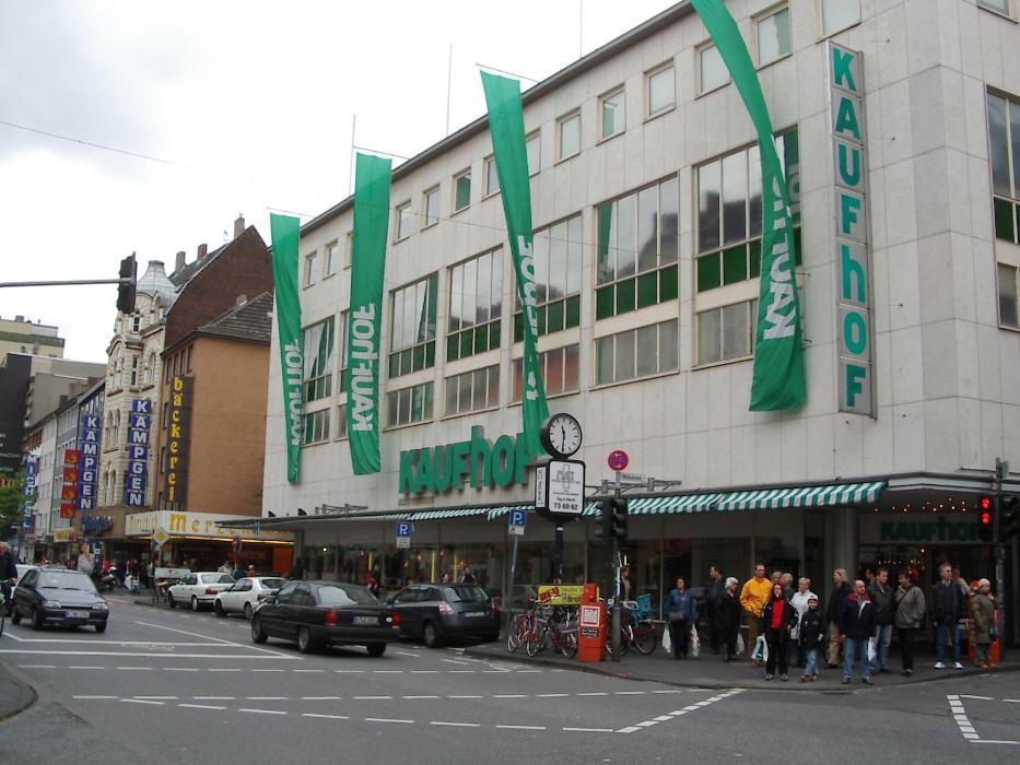 Galeria Kaufhof Köln-Nippes, Neusser Straße in Köln