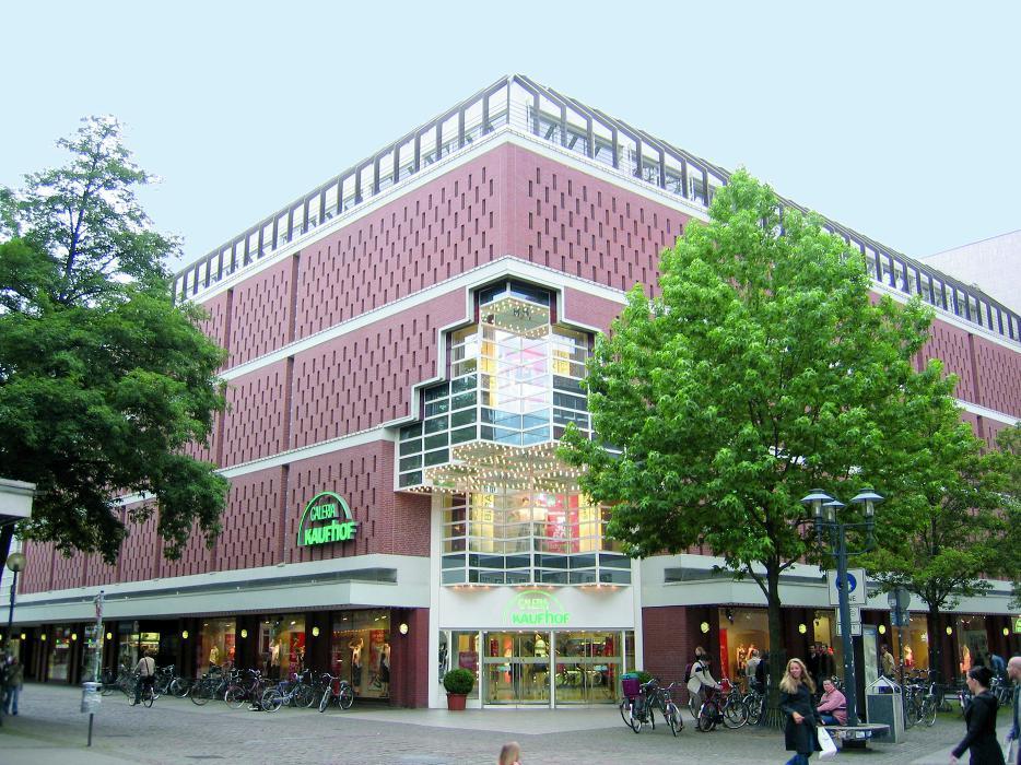Galeria Kaufhof Münster, Ludgeristraße in Münster