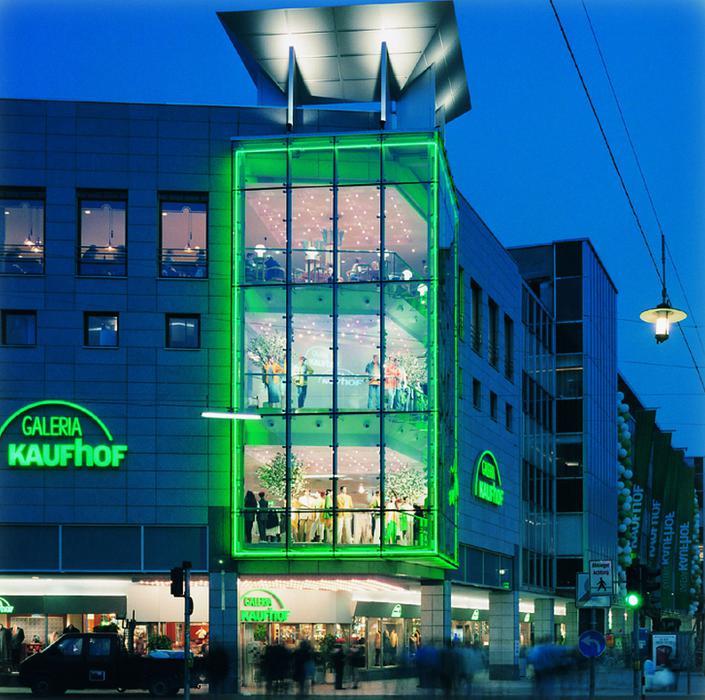 Galeria Kaufhof Saarbrücken, Bahnhofstraße in Saarbrücken