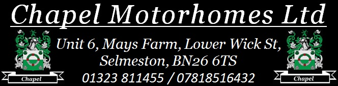 Chapel Motorhomes. - polegate, East Sussex  BN26 6TS - 01323 811455 | ShowMeLocal.com