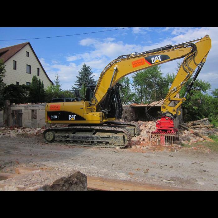 Bild zu Schäfer Bagger und Abbrucharbeiten in Vellberg