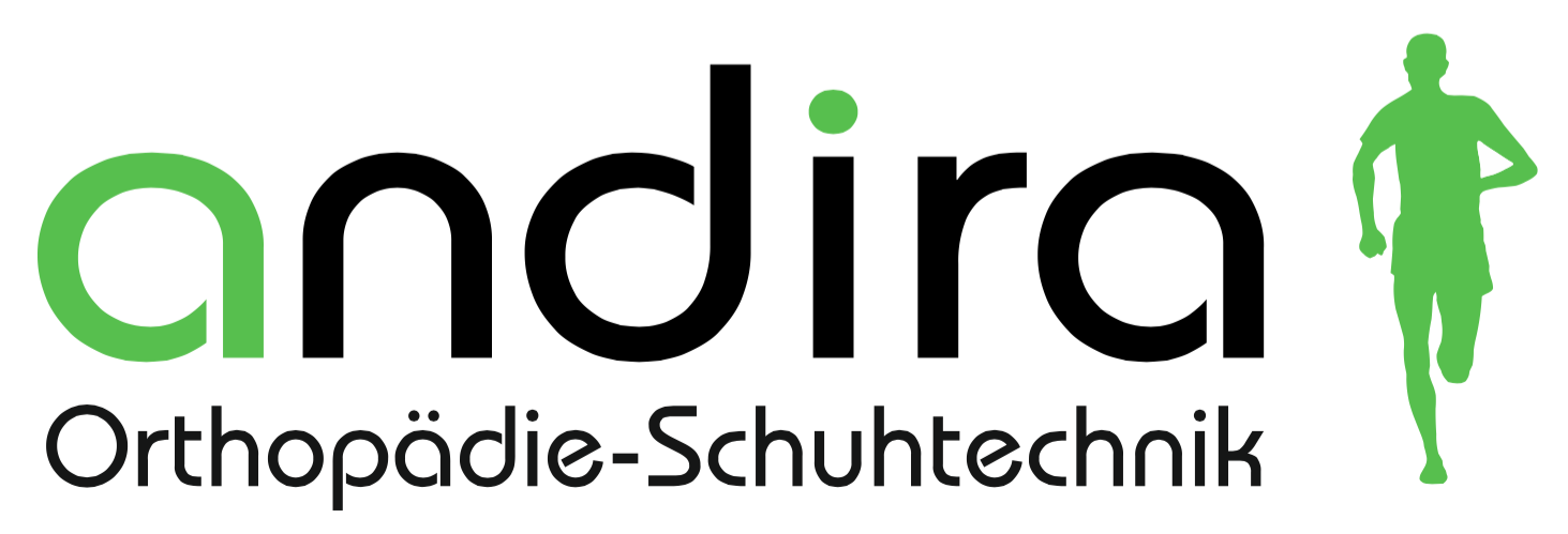 Logo von andira UG technische Fuß- und Schuhorthopädie