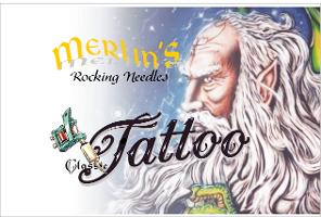 Merlins Rocking Needles Tattoo und llusionsmalerei