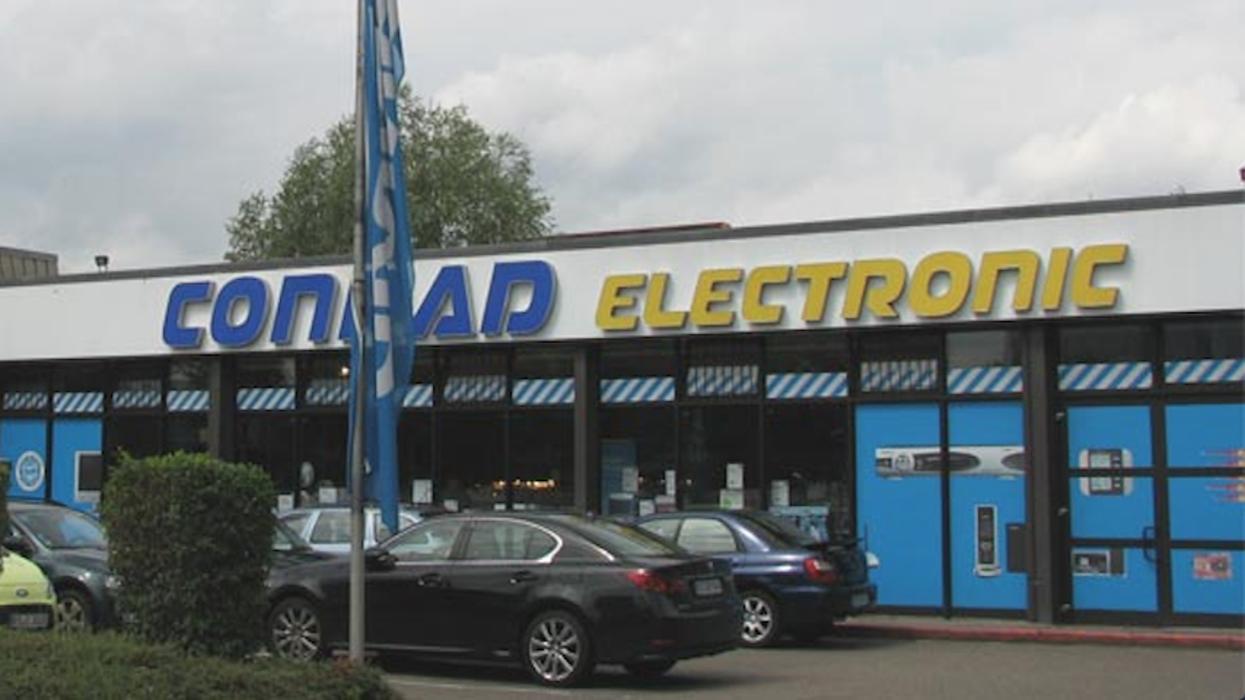 Conrad Electronic, Sudetenstraße in Braunschweig