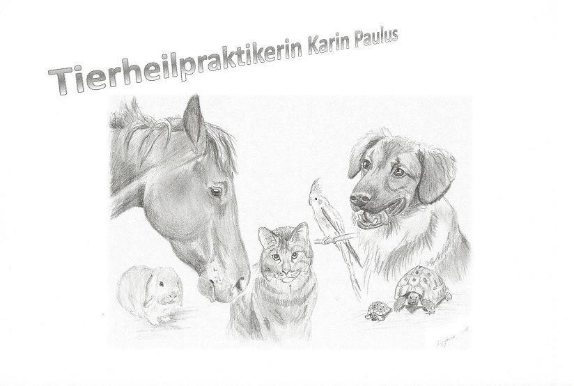 Logo von Tierheilpraktikerin, heilende Natur, Karin Paulus