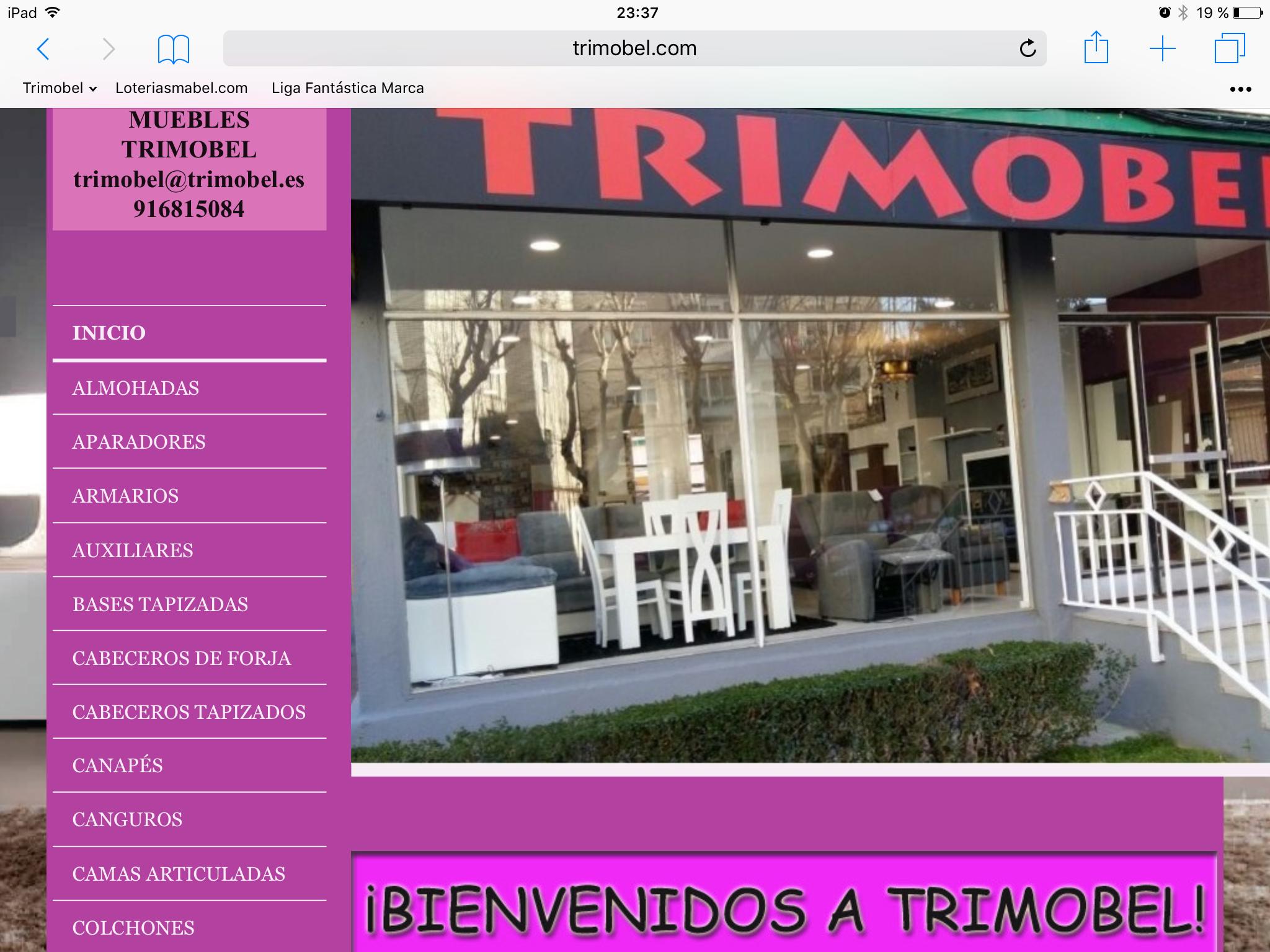 Tienda Muebles Getafe Cocinas Y Baos Jana Foto De Trimobel  # Muebles Marga Getafe