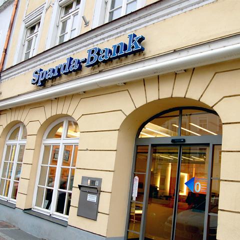 Sparda bank filiale landshut stadt in landshut for Offnungszeiten sparda bank