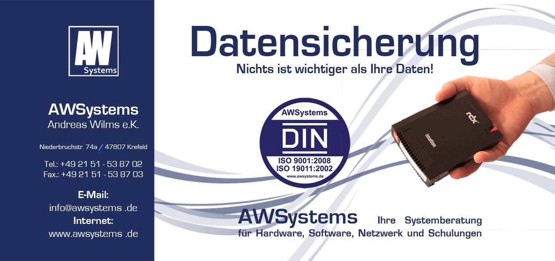 AWSystems Andreas Wilms e.K., Niederbruchstraße in Krefeld