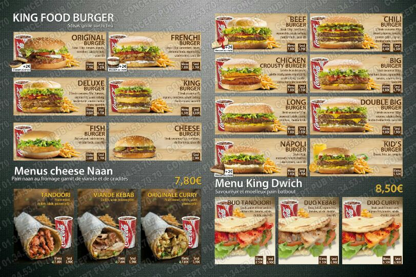 King food burger