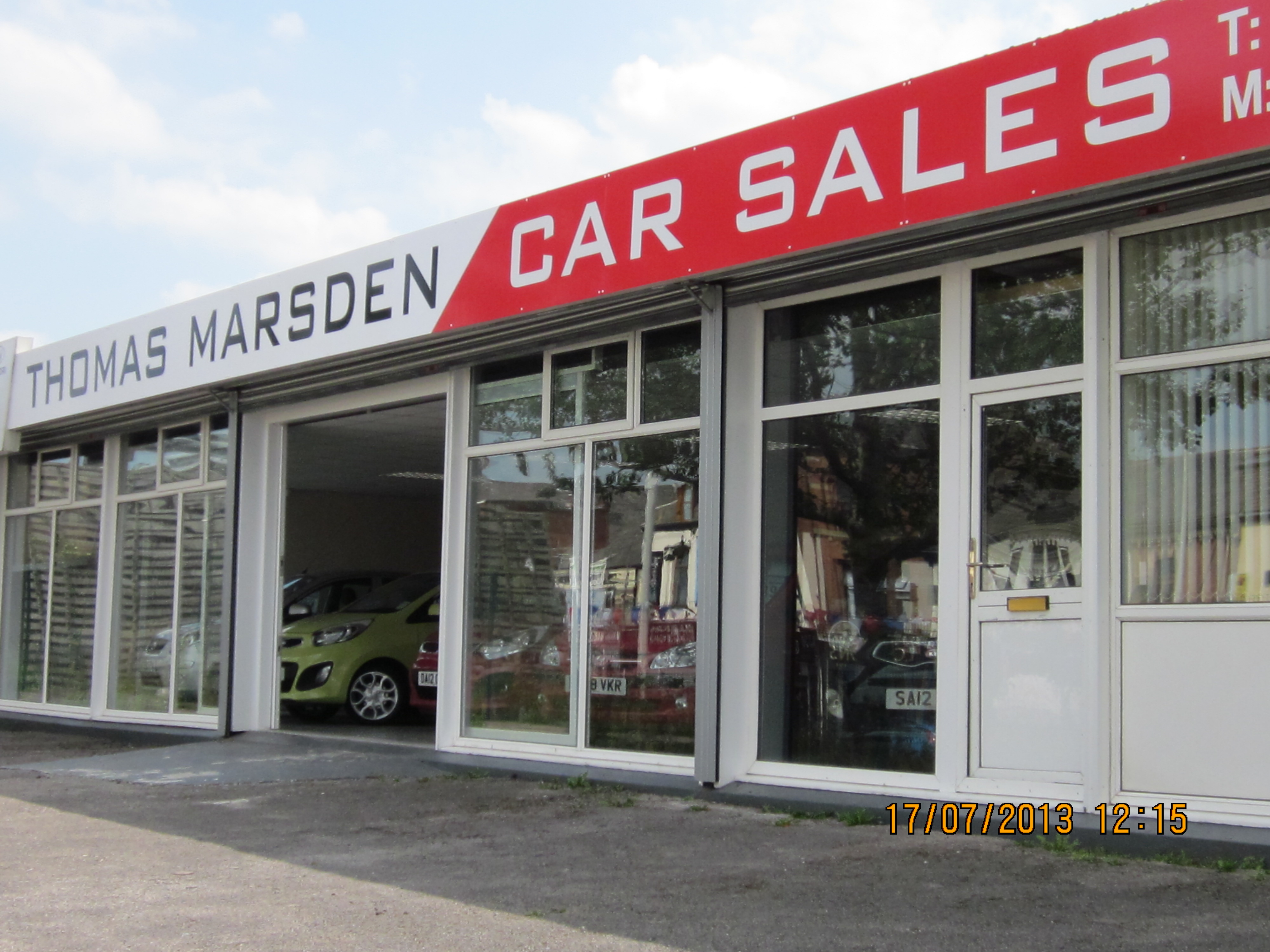 thomas marsden car sales