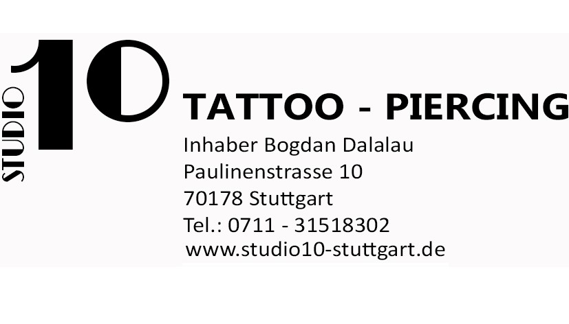 Studio 10 Tattoo - Piercing