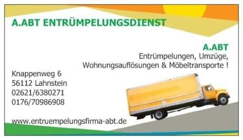Firma Abt Entrümpelungen & Umzüge