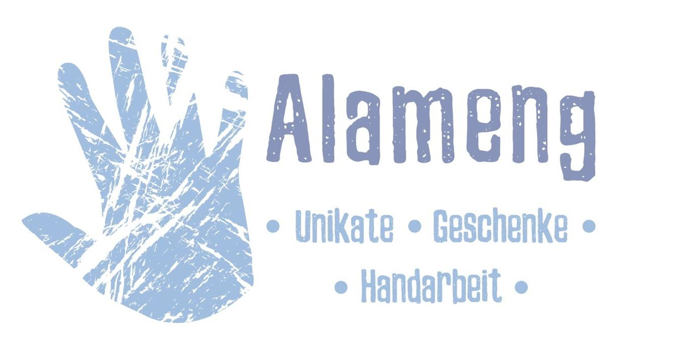 Logo von Alameng - Unikate, Geschenke, Handarbeit