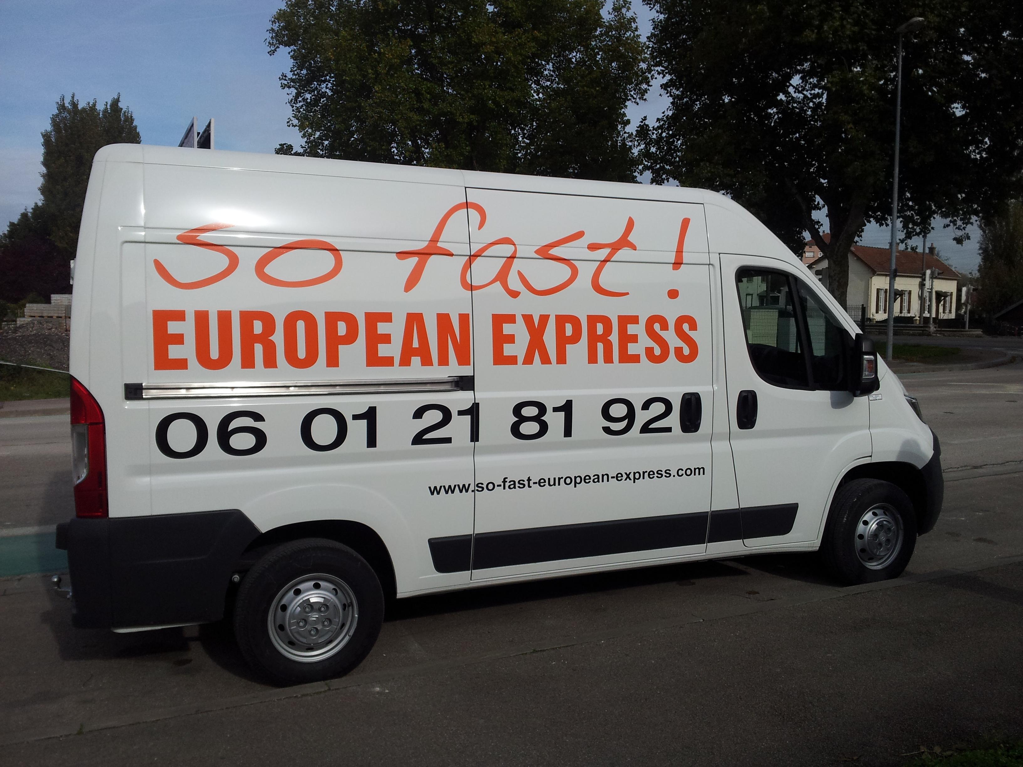 SO FAST EUROPEAN EXPRESS