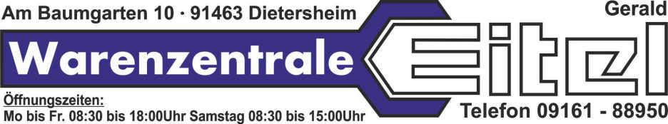 Warenzentrale Eitel e.K - Ihr Regionales Fachgeschäft zwischen Neustadt a.d. Aisch und Bad Windsheim