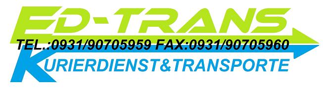 Logo von ED-TRANS Kurierdienst & Transporte