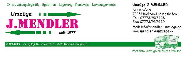 J. Mendler Umzüge