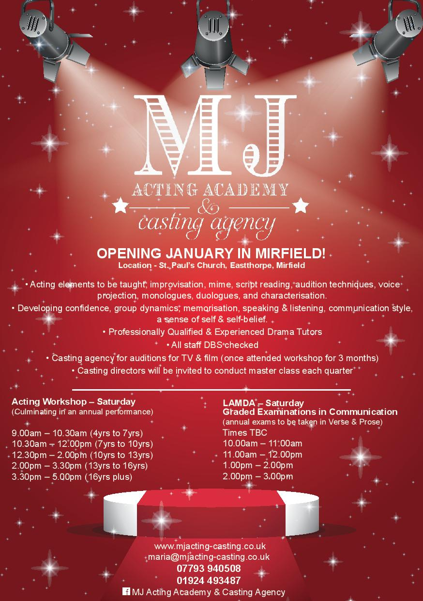 MJ Acting Academy & Casting Agency