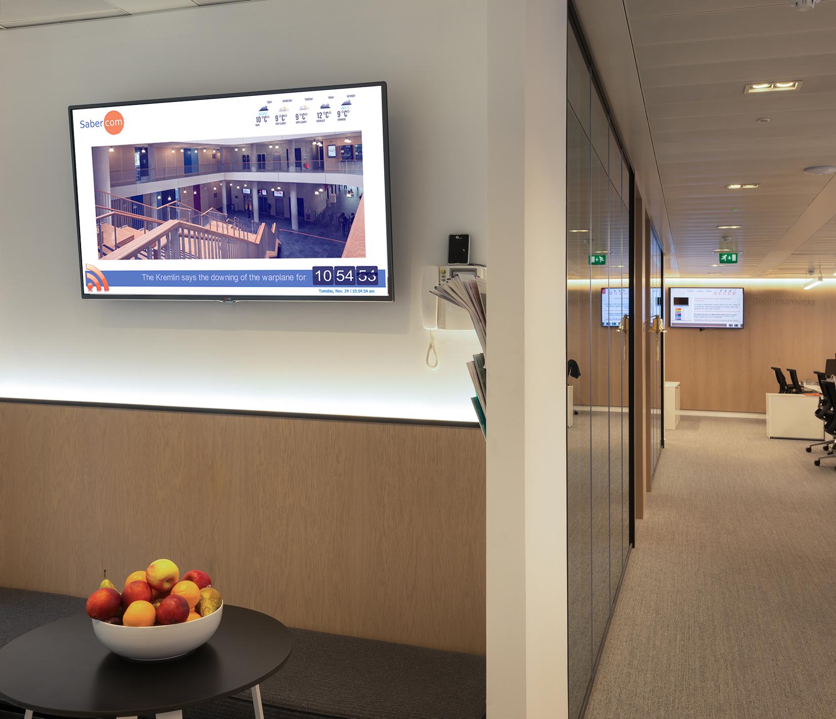 Sabercom Digital Signage - Tonbridge, Kent TN9 1EP - 01732 440035 | ShowMeLocal.com