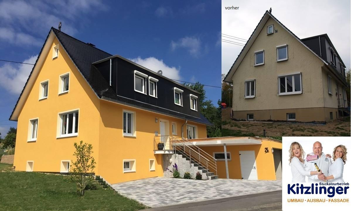 Kitzlinger Umbau Ausbau Fassade