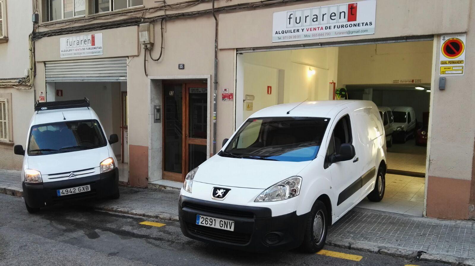 FURARENT, ALQUILER Y VENTA DE FURGONETAS EN MALLORCA