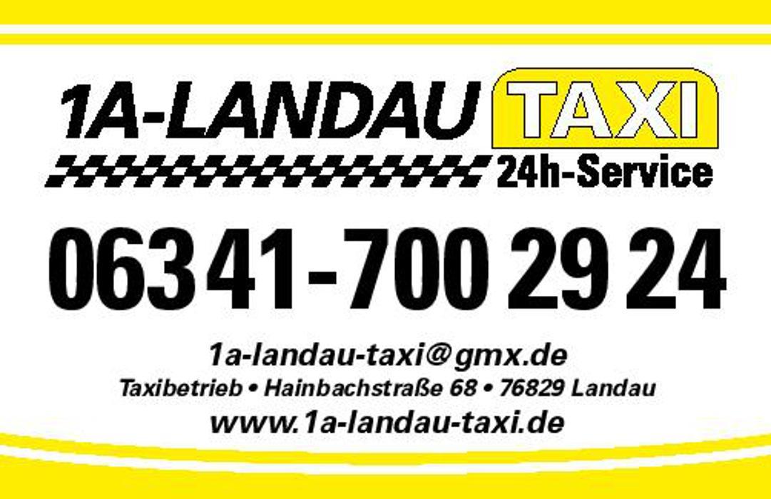 Logo von 1A Landau Taxi